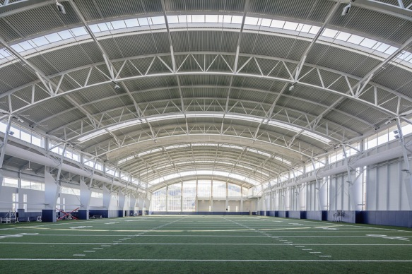 The Liberty Football Indoor practice facility